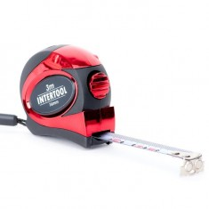 Tape measure 3mx16mm auto lock INTERTOOL MT-0803: фото 2