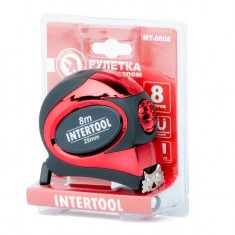 Tape measure 7.5mx25mm auto lock INTERTOOL MT-0808: фото 3