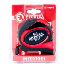 Tape measure 7.5mx25mm auto lock INTERTOOL MT-0808: фото 4