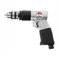 "Air drill, reversible, chuck 1.5-10 mm, 3/8"" INTERTOOL PT-0902"