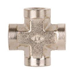 "Cross-fitting, inner thread 1/4"" INTERTOOL PT-1864"