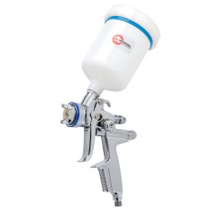 HVLP professional painting gun 1,3 mm, upper plastic cup 600 ml INTERTOOL PT-0105