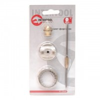 Nozzles set, 2,5 mm INTERTOOL PT-2008