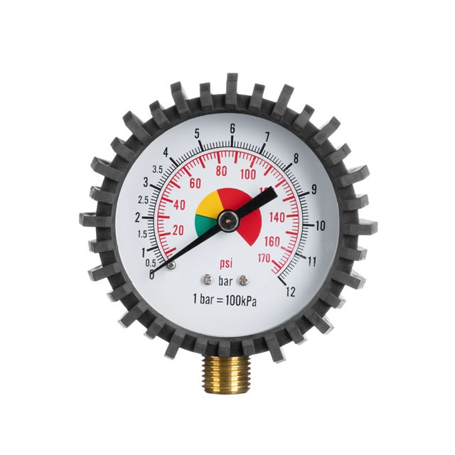 "Pressure gauge for pumping gun, 63MM, NPTF 1/8"" 10.30 x 0.94 mm INTERTOOL PT-0502"