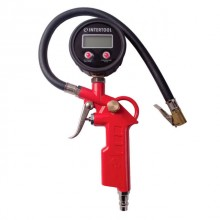 Tyre pumping gun with digital pressure gauge, 63 mm INTERTOOL PT-0508