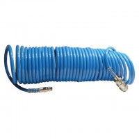 Spiral hose PU 5.5x8 mm, 5 m INTERTOOL PT-1706