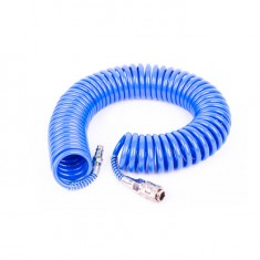 Spiral hose PU 5.5x8 mm, 10 m INTERTOOL PT-1707: фото 2