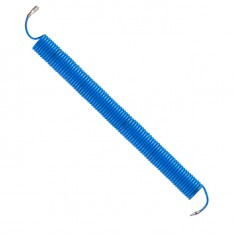 Spiral hose PU 6.5x10 mm, with quick connector, 15 m INTERTOOL PT-1712