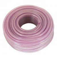 High pressure PVC hose reinforced 6 mmx50 m INTERTOOL PT-1740