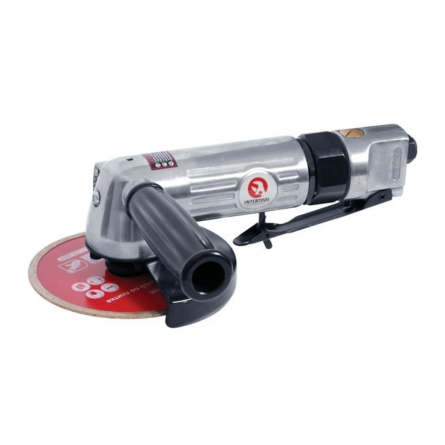 Air angle grinder 115 mm INTERTOOL PT-1201