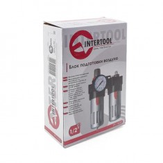"Air treatment kit 1/2"" INTERTOOL PT-1430: фото 10"
