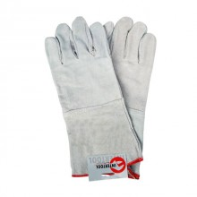 "Cow split leather glove, 14"" INTERTOOL SP-0009"