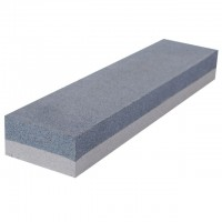 Combination sharpening stone 200x50x25 mm, K120, K240 INTERTOOL HT-0552