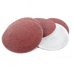 Velcro sanding disc 125 mm, K40, 10 pcs. pack INTERTOOL BT-0504
