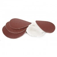 Velcro sanding disc 125 mm, K100, 10 pcs. pack INTERTOOL BT-0510