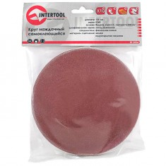 Velcro sanding disc 125 mm, K360, 10 pcs. pack INTERTOOL BT-0536: фото 2