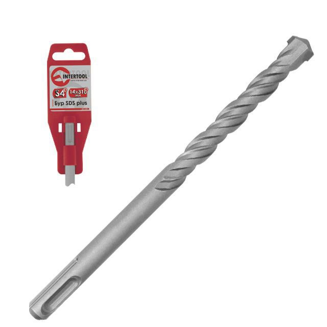 SDS PLUS S4 6x260 mm INTERTOOL SD-0626