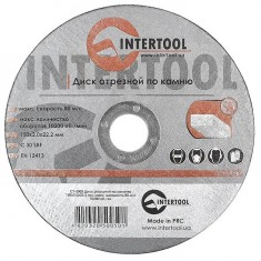 Cut-off wheel for stone 150x2x22,2 mm INTERTOOL CT-5005