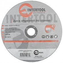 Cut-off wheel for stone 180x2x22 mm INTERTOOL CT-5007