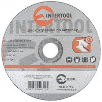 Cut-off wheel for metal 150x1,6x22.2 mm INTERTOOL CT-4011