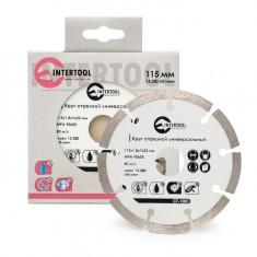 Segmented Saw Blade 115 mm INTERTOOL CT-1001: фото 3