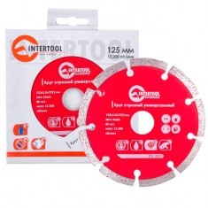 Segmented Saw Blade 125 mm INTERTOOL CT-1007: фото 2