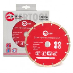 Segmented Saw Blade 180 mm INTERTOOL CT-1009: фото 3