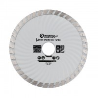 Turbo Saw Blade 125 mm INTERTOOL CT-2002