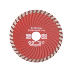 Turbo Saw Blade 125 mm INTERTOOL CT-2007