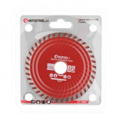 Turbo Saw Blade 125 mm INTERTOOL CT-2007: фото 2