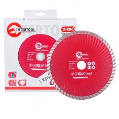Turbo Saw Blade 180 mm INTERTOOL CT-2009: фото 2