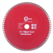 Turbo Saw Blade 230 mm INTERTOOL CT-2010