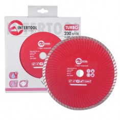 Turbo Saw Blade 230 mm INTERTOOL CT-2010: фото 2