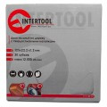 Saw blade for wood, carbide tipped 125x22x1.4 mm , 30 teeth INTERTOOL CT-3013