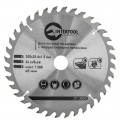Saw blade for wood, carbide tipped 200x25.4x1.5 mm , 36 teeth INTERTOOL CT-3020