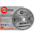 Saw blade for wood, carbide tipped 210x30x1.5 mm , 40 teeth INTERTOOL CT-3023