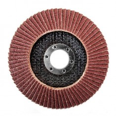 Flap disc 115 mm x 22, K80 INTERTOOL BT-0108: фото 2
