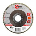 Flap disc 115 mm x 22, K80 INTERTOOL BT-0108