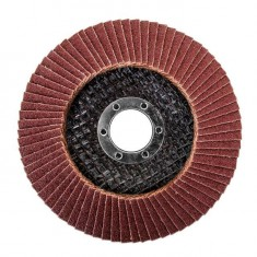 Flap disc 115 mm x 22, K100 INTERTOOL BT-0110: фото 2