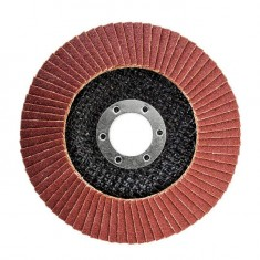 Flap disc 115 mm x 22, K120 INTERTOOL BT-0112: фото 2