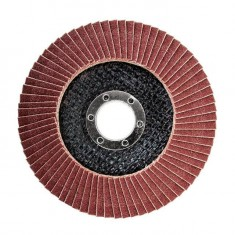 Flap disc 115 mm x 22, K150 INTERTOOL BT-0115: фото 2