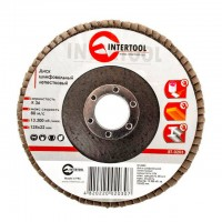 Flap disc 125 mm x 22, K36 INTERTOOL BT-0203