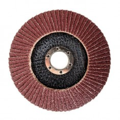 Flap disc 125 mm x 22, K60 INTERTOOL BT-0206: фото 2