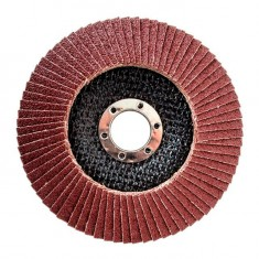 Flap disc 125 mm x 22, K80 INTERTOOL BT-0208: фото 2