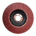 Flap disc 125 mm x 22, K80 INTERTOOL BT-0208