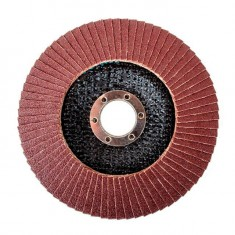 Flap disc 125 mm x 22, K100 INTERTOOL BT-0210: фото 2