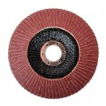 Flap disc 125 mm x 22, K100 INTERTOOL BT-0210
