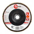 Flap disc 180 mm x 22, K36 INTERTOOL BT-0223