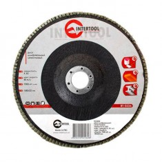 Flap disc 180 mm x 22, K60 INTERTOOL BT-0226