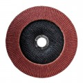 Flap disc 180 mm x 22, K80 INTERTOOL BT-0228